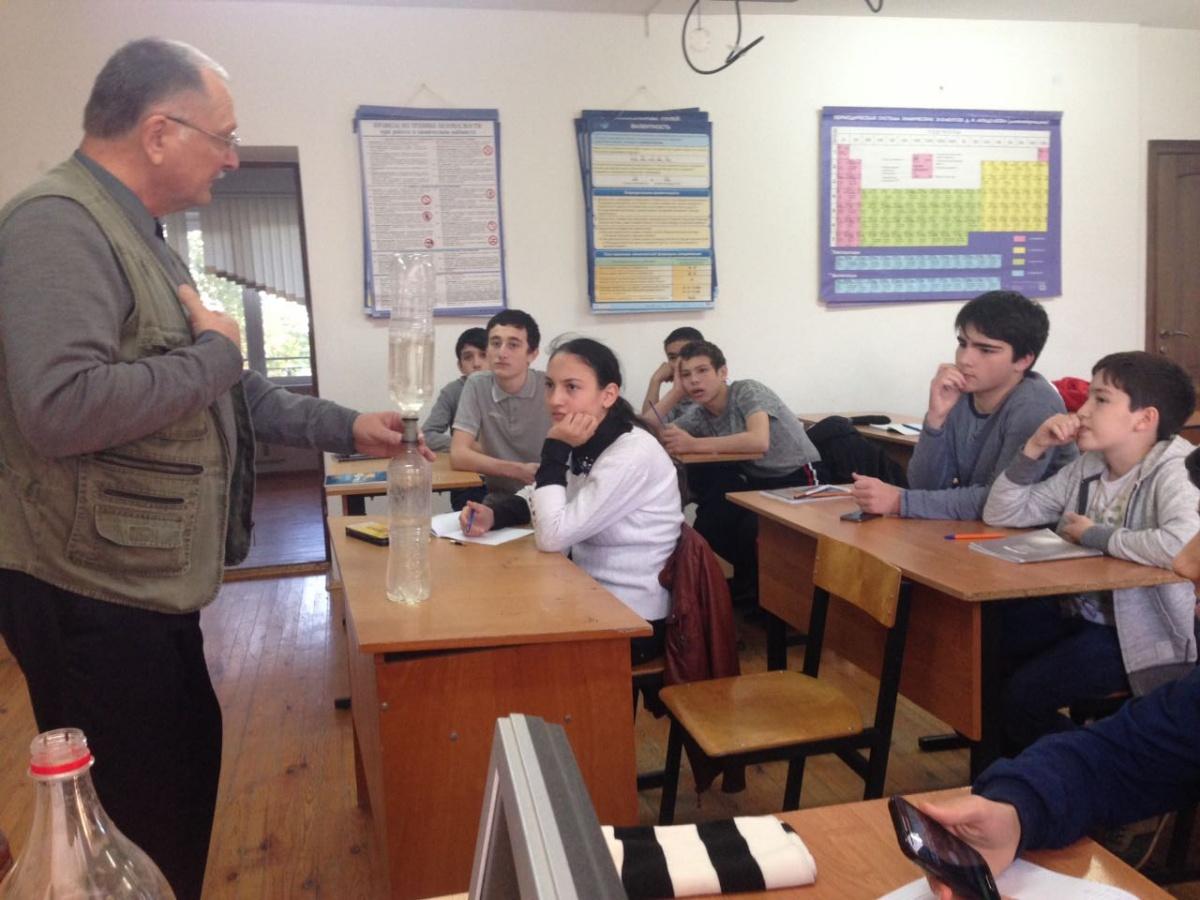 Преподаватели МГУ для дагестанских школьников