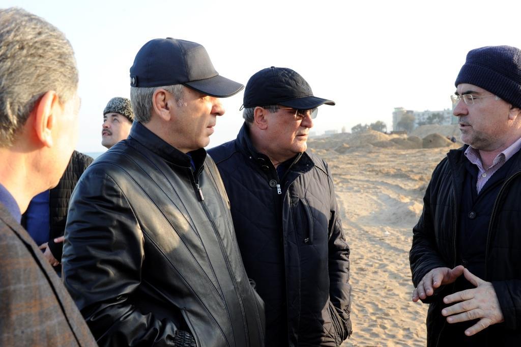 Абдусамад Гамидов проинспектировал ход строительства набережной Дербента