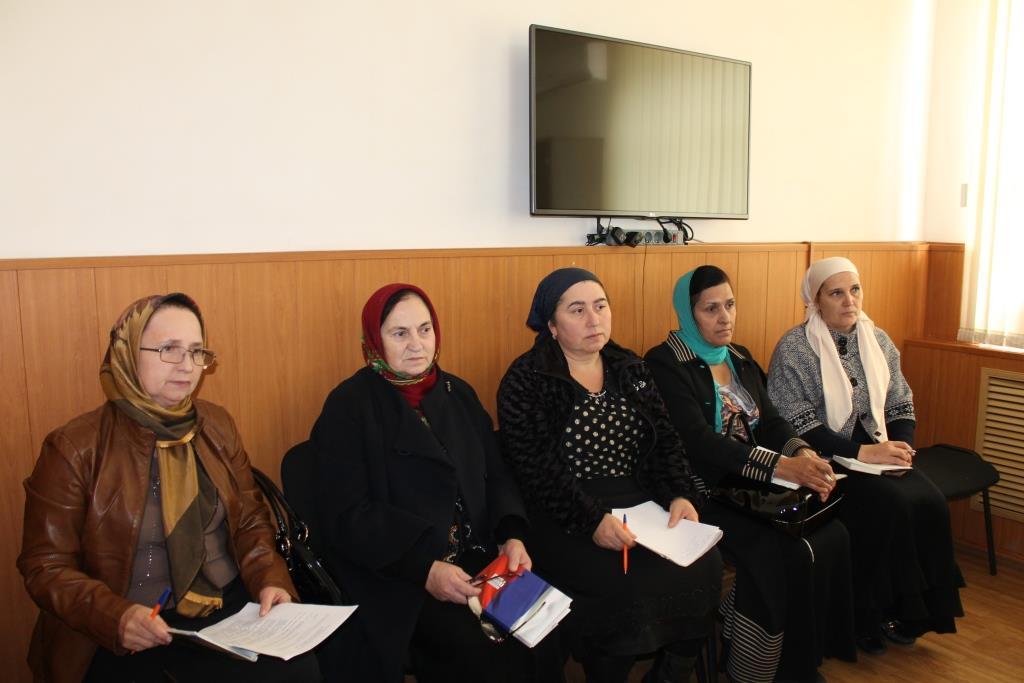 В Гергебильском районе обсудили духовно-нравственное воспитание молодежи