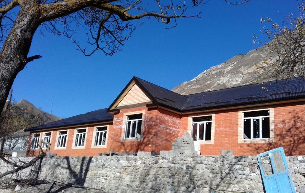 Завершается строительство новой школы в Гергебильском районе