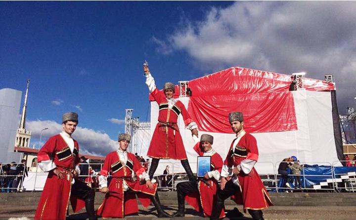 Ансамбль «Акаро» стал лауреатом фестиваля «Этно - Сочи 2016»