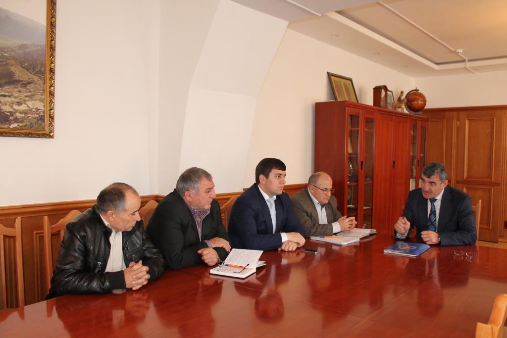 В Гергебильском районе обсудили вопросы актуализации земельных участков