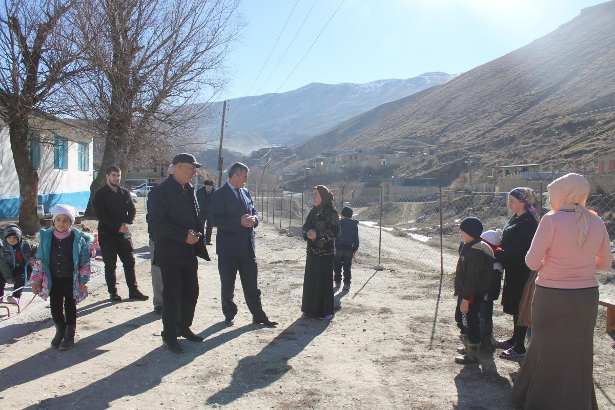 Глава Гергебильского района посетил детский сад