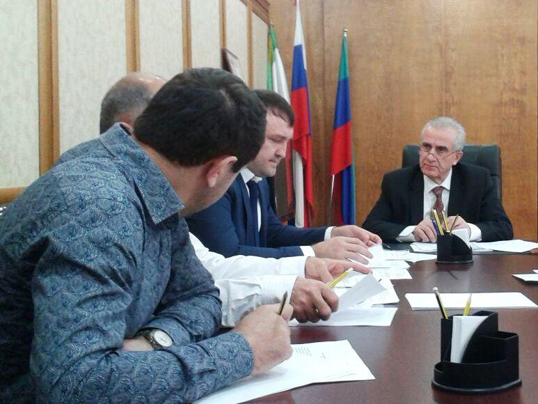 Заседание антитеррористической комиссии состоялось в Дагестанских Огнях