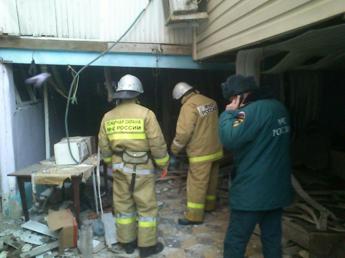 В Махачкале в двухэтажном доме прогремел взрыв