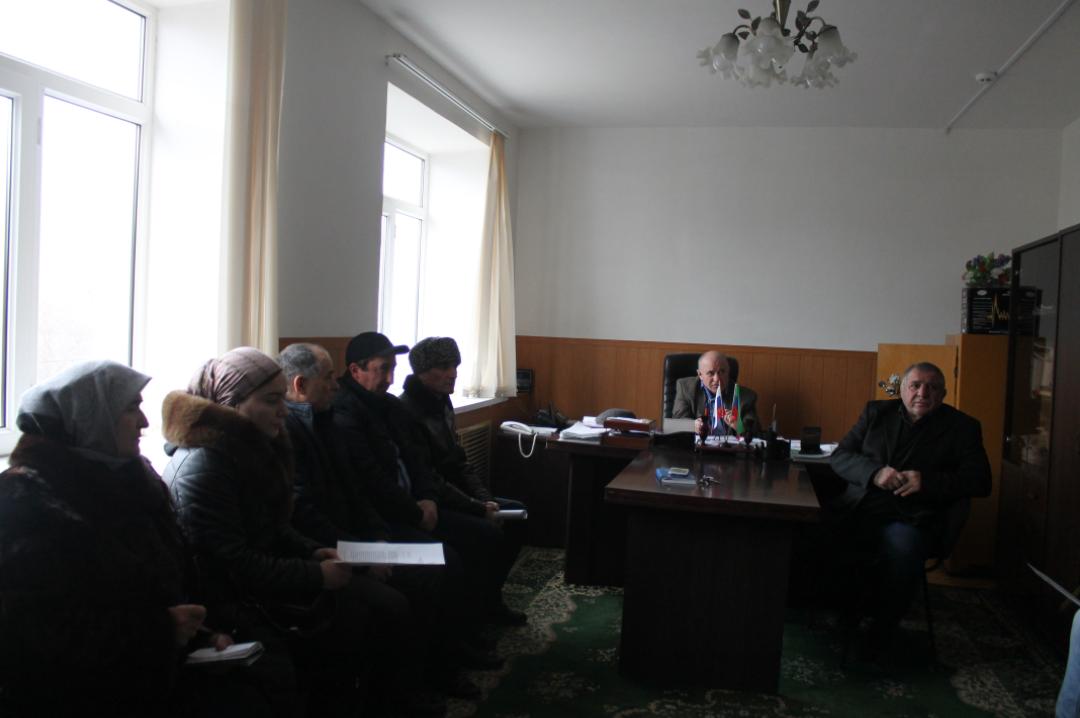 В Гергебильском районе обсудили ввод сведений в систему ГИС ЖКХ