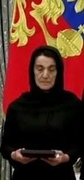 Орденом Матери награждена Кумсият Нурбагандова