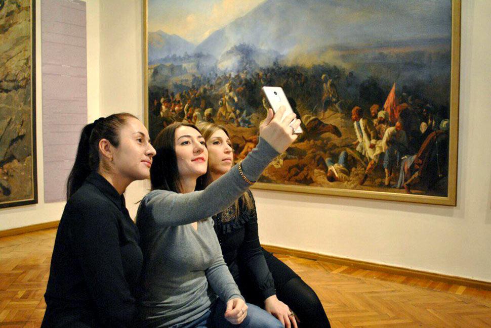 Всемирная акция «Музейное селфи» прошла в Дагестане