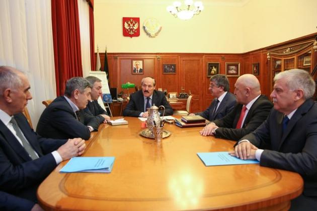 Глава республики встретился с избранными руководителями муниципальных образований
