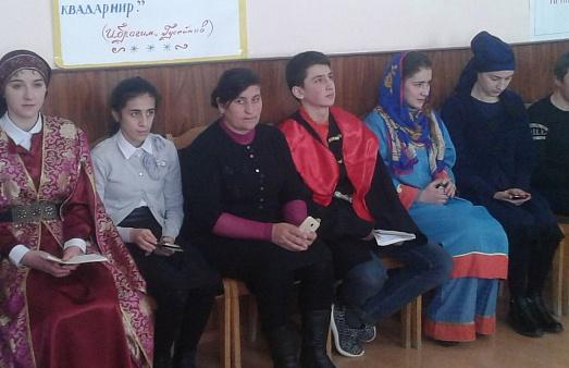 Конкурс чтецов на родном языке был организован в Курахском районе