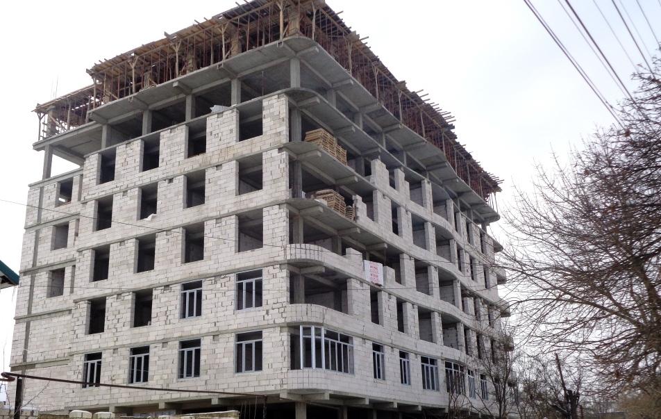 В Дагестанских Огнях строится дом по федеральной программе
