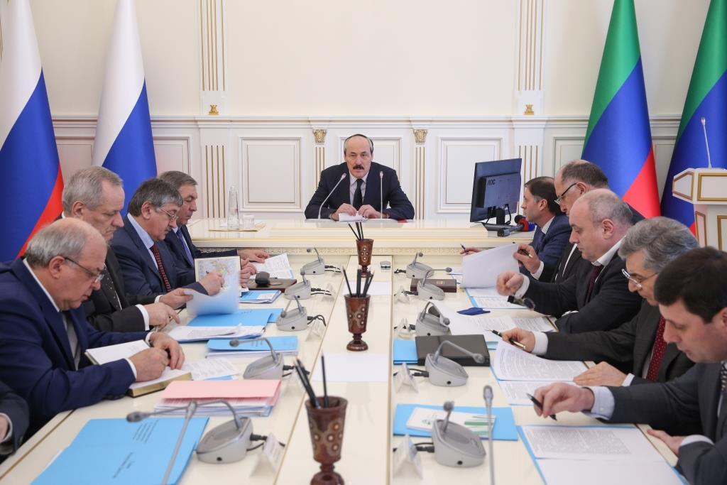 Под руководством Рамазана Абдулатипова обсуждены вопросы проектного управления в Республике Дагестан