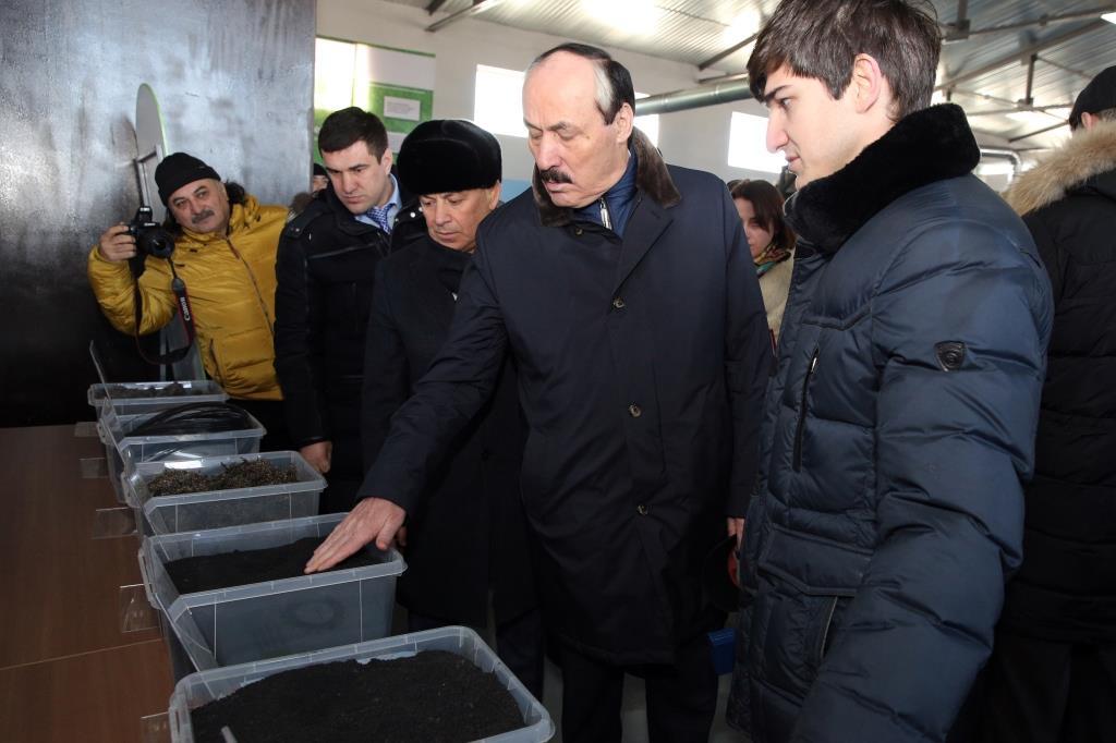 В Дагестане введен в строй завод по переработке и утилизации автомобильных шин