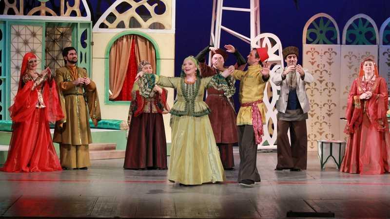 На сцене Аварского театра пройдет лирическая музыкальная комедия по пьесе Узеира Гаджибекова «Аршин мал алан»