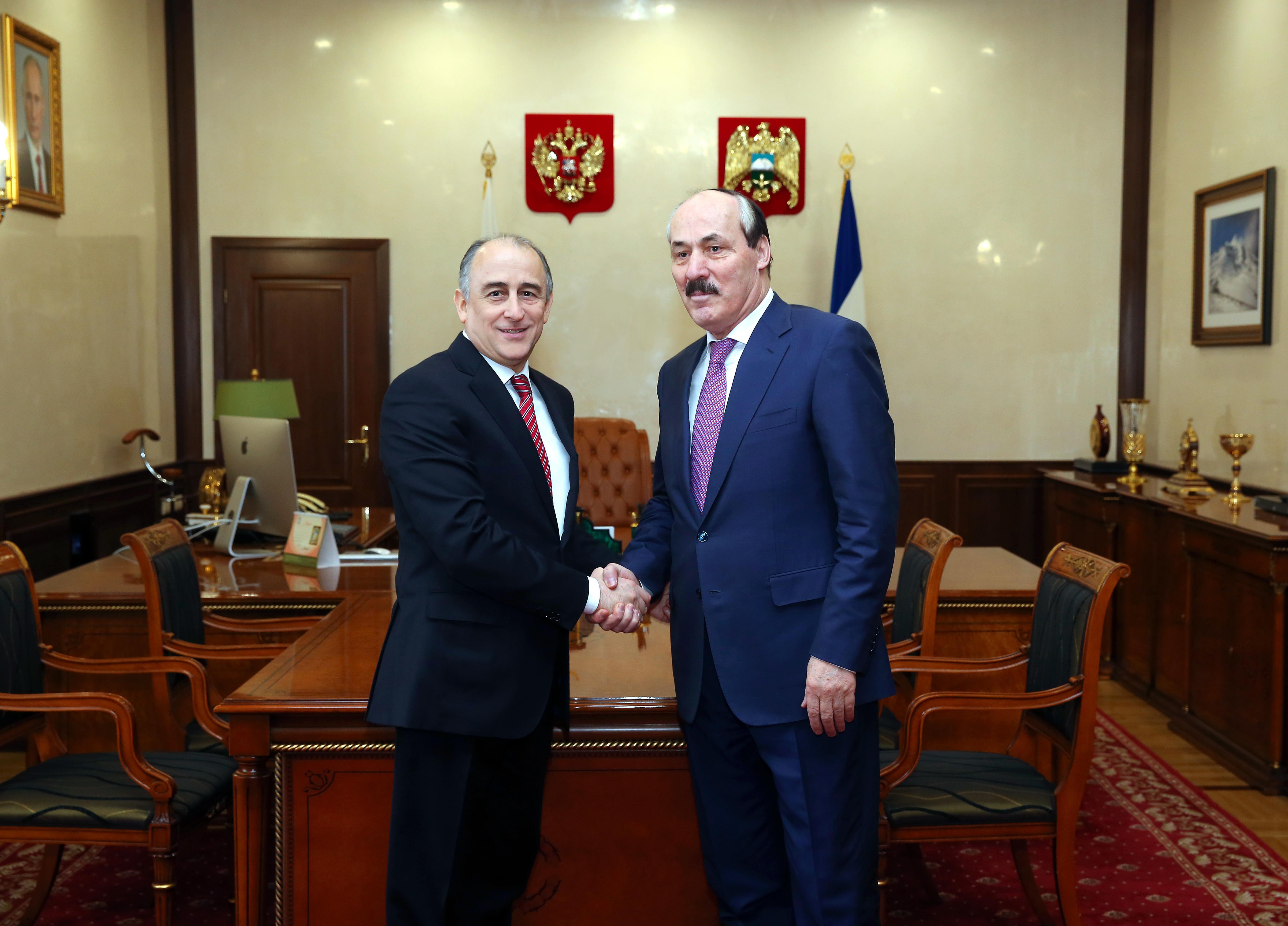 В Нальчике прошла встреча Рамазана Абдулатипова и Юрия Кокова