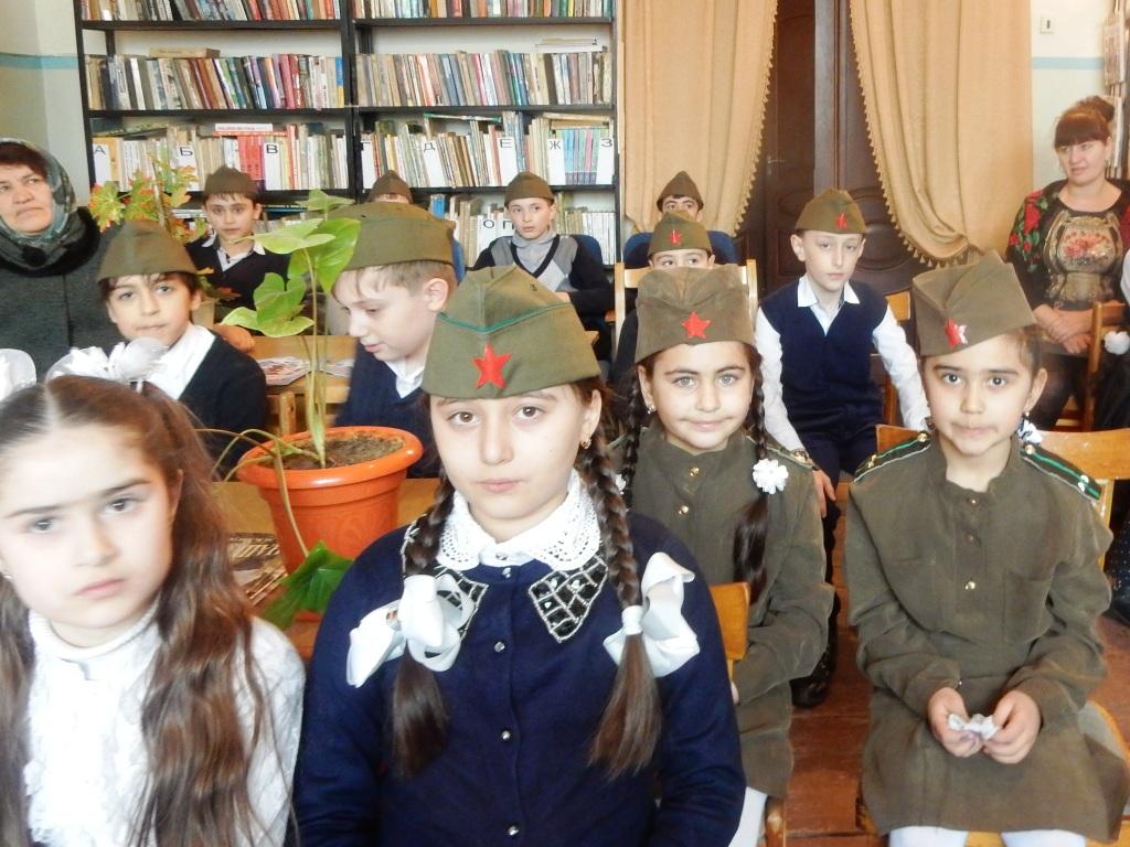 В Дагестанских Огнях прошло мероприятие, приуроченное к Дню защитника Отечества