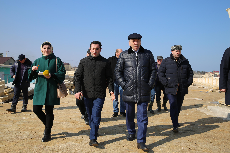 В Дербенте готовятся к официальному открытию набережной