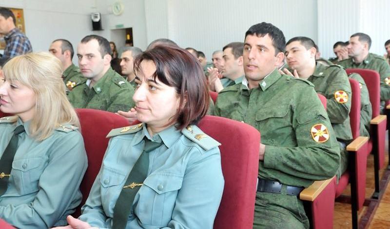 В  Махачкале прошла Акция «Подарок солдату»