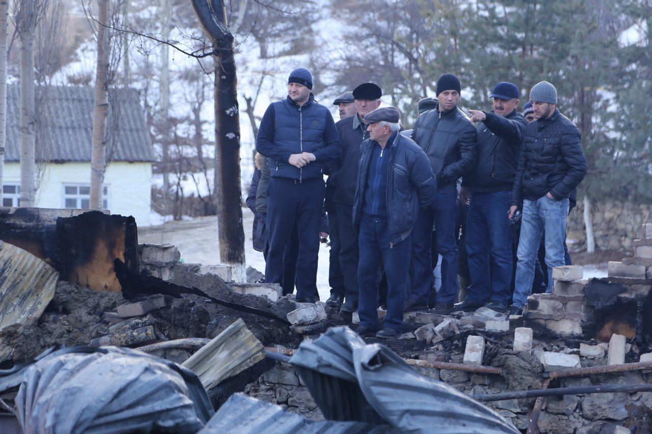 Учеников сгоревшей Тлайлухской школы будут возить на учебу в соседнее село