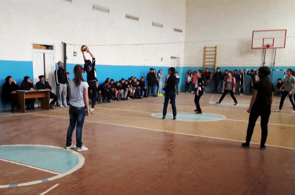 В Дагестанских Огнях прошел городской турнир по волейболу среди учащихся общеобразовательных учреждений