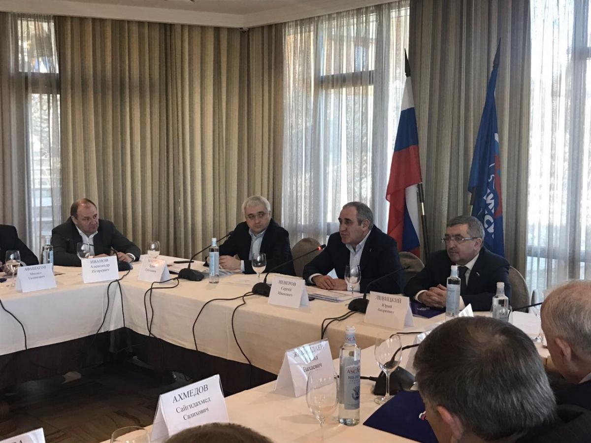 Первое заседание Северокавказского межрегионального координационного совета