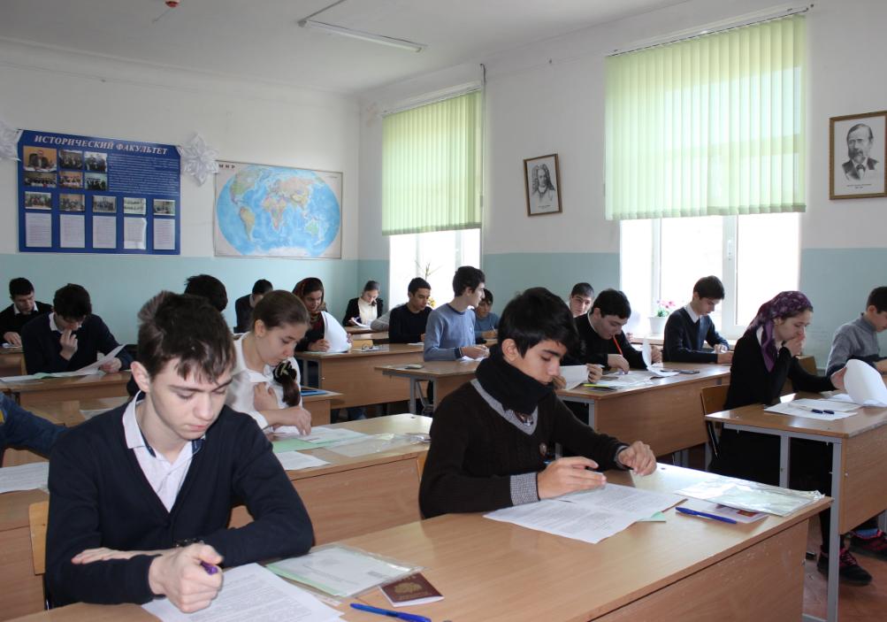 Школьники с Северокавказских республик приедут на олимпиаду в Дагестан