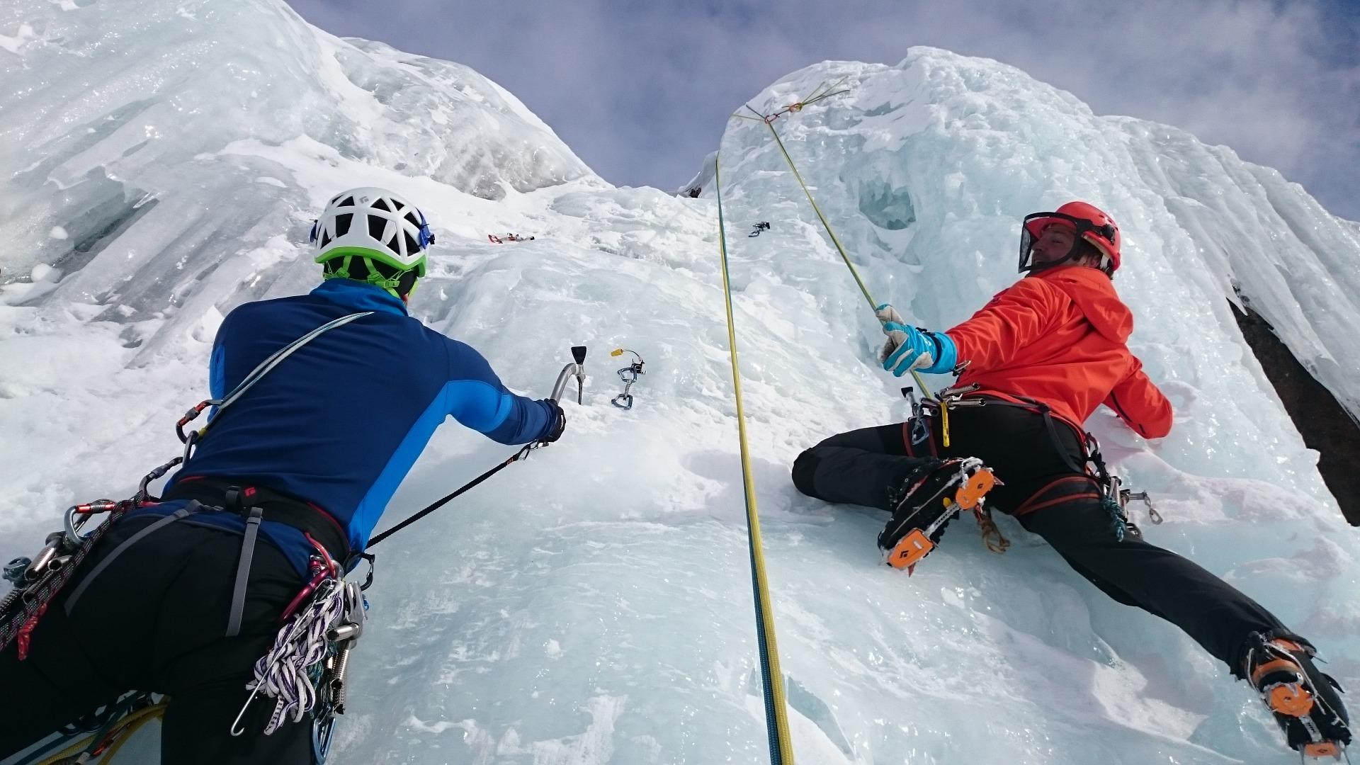 В Дагестане прошли соревнования по ледолазанию