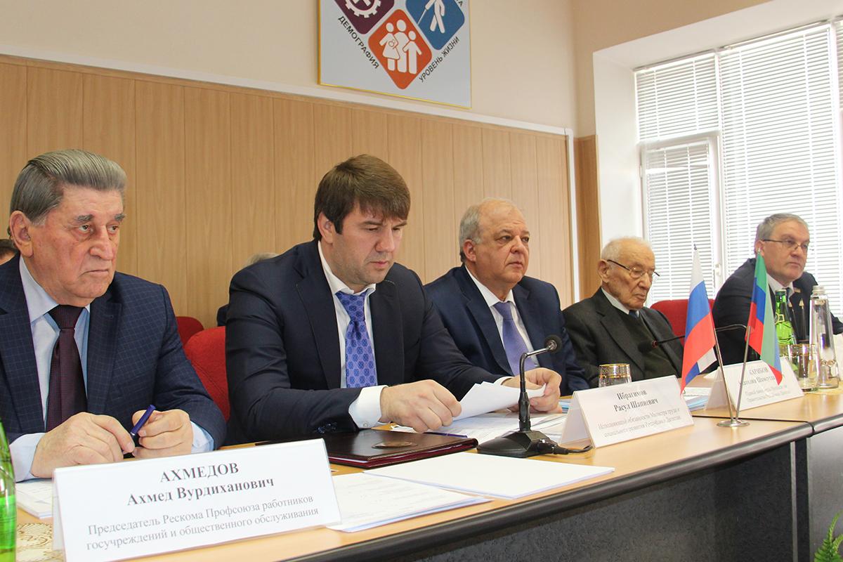 Коллегия Минтруда Дагестана подвела итоги работы за 2016 год и обсудила Послание Главы республики