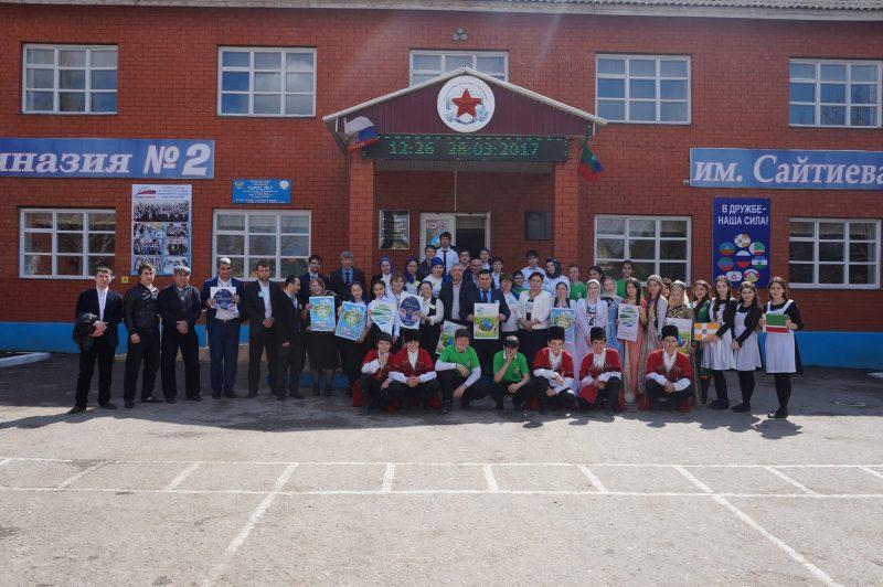 Школьники СКФО соревнуются на Олимпиаде в Хасавюрте