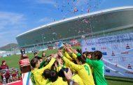Юные футболисты «Анжи» завоевала трофей всероссийского турнира