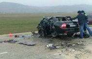 В крупном ДТП в Дагестане погибли три человека