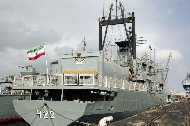 В Махачкалу прибыли боевые корабли Ирана