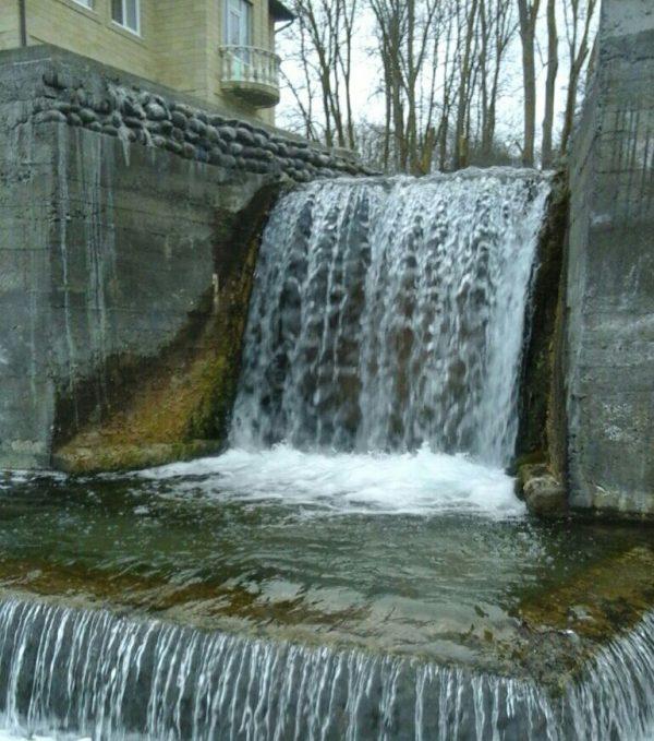 В Магарамкентском районе соорудили искусственный водопад
