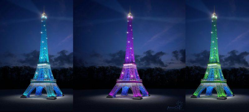 В дагестанском Каспийске строят свою Эйфелеву башню