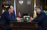 Глава Дагестана провёл встречу с губернатором Ставропольского края
