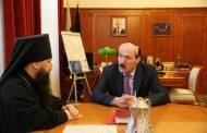 Глава РД провел встречу с епископом Махачкалинским и Грозненским Варлаамом