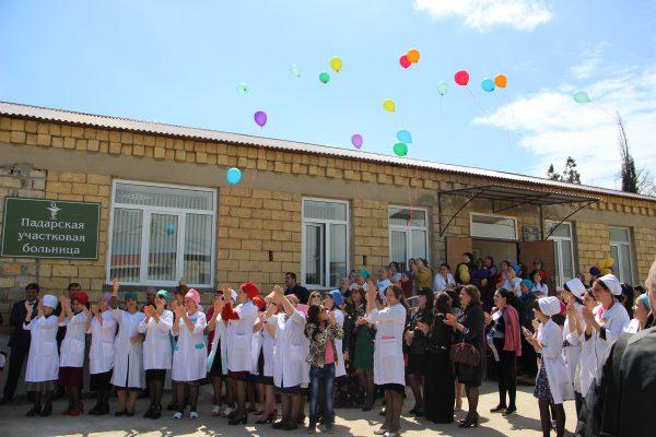 Больницу и поликлинику открыли после капремонта в селе Падар