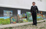 Юный житель Ботлихского района пишет уникальные пейзажи