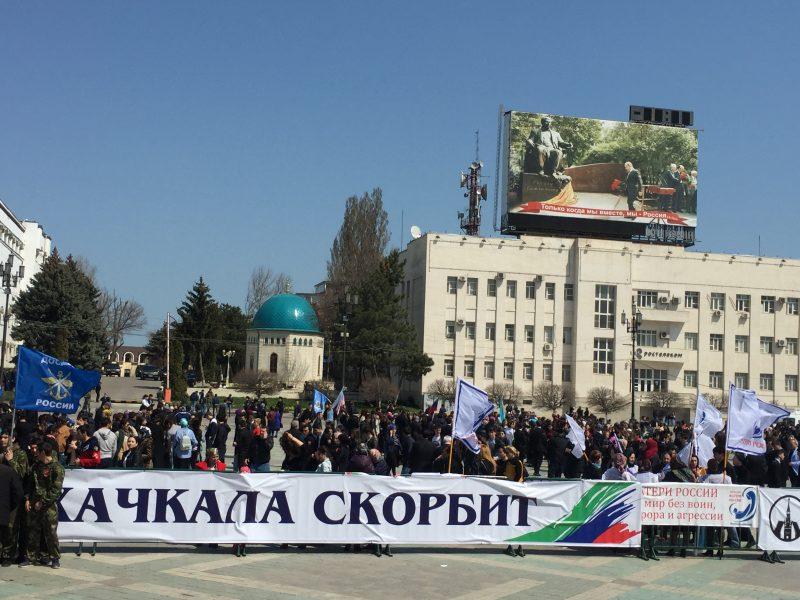Абдулатипов поддержал акцию «Дагестан против террора»
