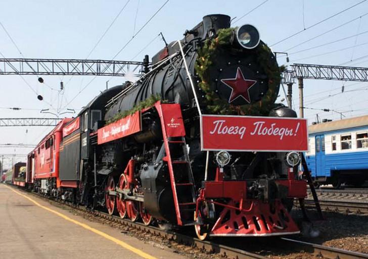 Махачкалу сегодня прибудет ретро-поезд «Победа»