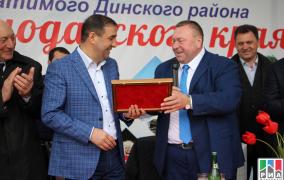 Делегация из Краснодарского края посетила Дербентский район