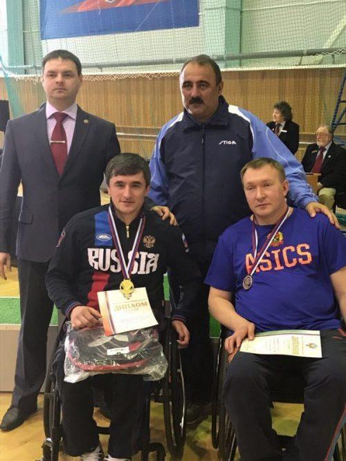 Паралимпиец из Дагестана стал чемпионом России по настольному теннису
