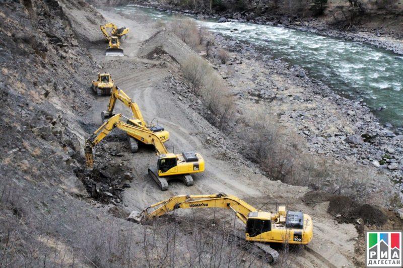 Один из рабочих скончался  при строительстве автодороги Хебда-Тлярата
