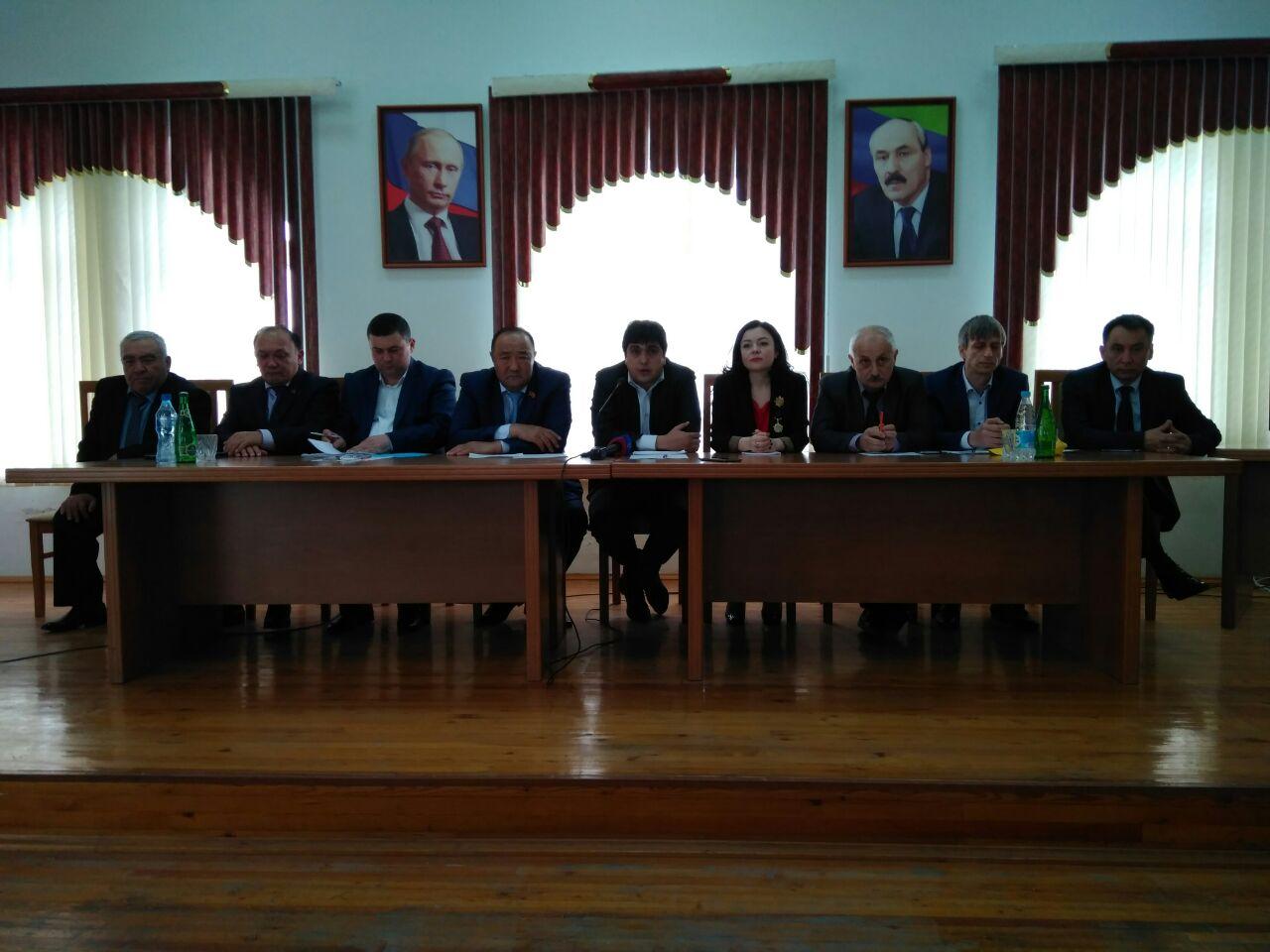 Агитдесант «Наша партия – Дагестан» посетил Ногайский район