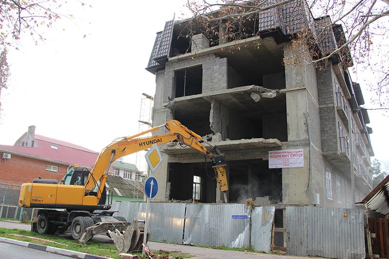 Какие дома и строения снесут в Махачкале?