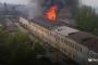 В Махачкале горят склады рыбо-консервного завода