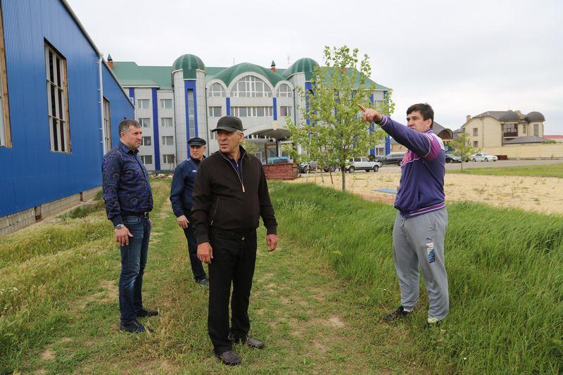 В Дагестане строят Центр олимпийской подготовки