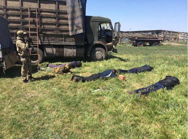 Пограничники Дагестана задержали шесть браконьеров с крупной партией осетровых