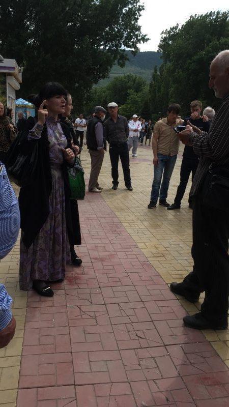 На публичную акцию в Махачкале вышли 60 человек