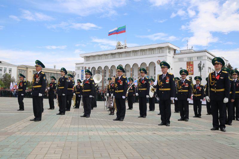 ВМахачкале вчесть Дня Победы прошел торжественный митинг